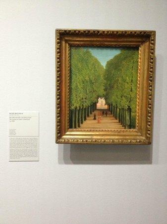 Städel Museum: Rousseau's The Avenue in Saint Cloud Park