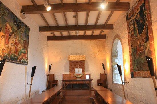 Carrickfergus Castle: 城内食堂