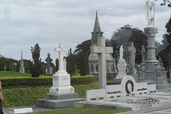 Glasnevin Cemetery Museum: Zo maar een paar graven