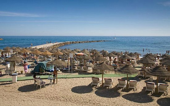 Marriott's Marbella Beach Resort: Beautiful Marbella beach.