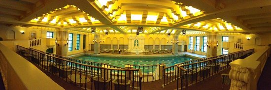InterContinental Chicago: Panorama of pool