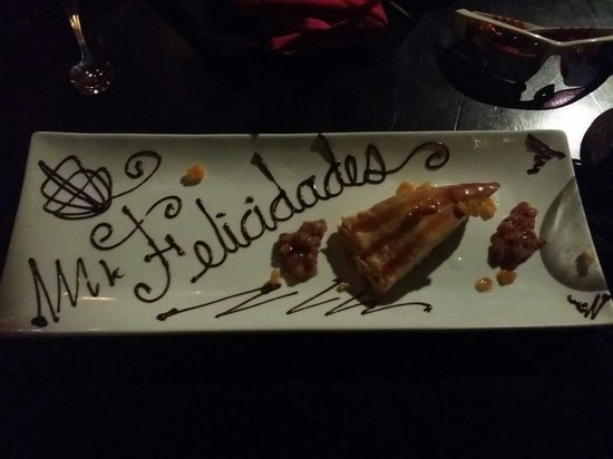 Kondesa Restaurante: Very good!  A favorite place for my nieces who live on Cozumel.  Food was awesome and the staff