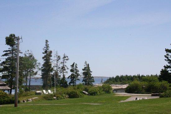Newagen Seaside Inn: View from the grounds