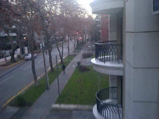 Park Plaza Apartments: Sacada