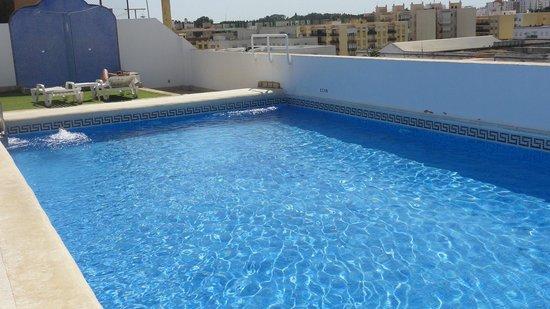 Los Jandalos Santa Maria: Hotel Rooftop Pool