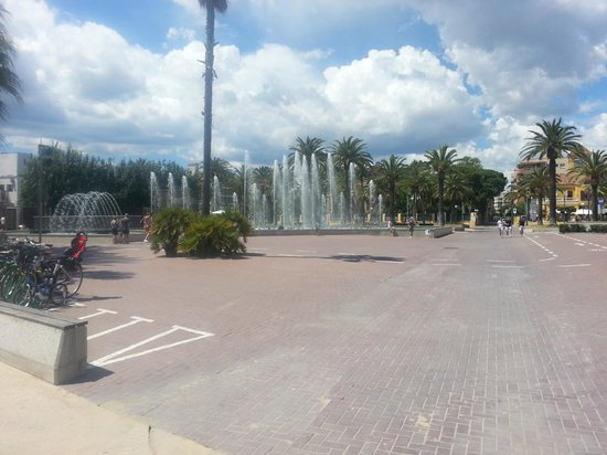 H10 Salou Princess: Fountains on promenade Salou