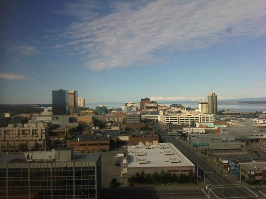 Sheraton Anchorage Hotel: view