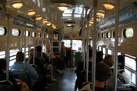 Historic Streetcars: inside the F Line