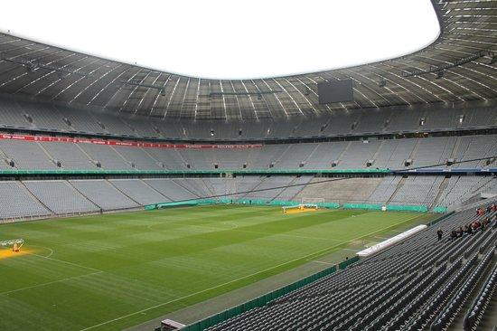 Allianz Arena: Campo de juego