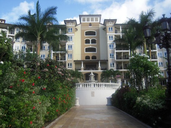 Sandals Grande Antigua Resort & Spa: Cypress Tower on the Mediterranean side