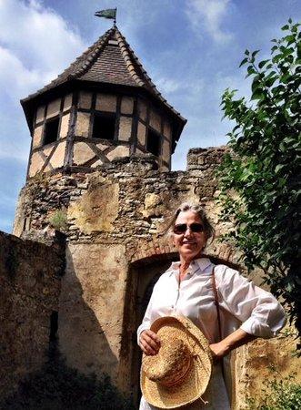 Schloss Hornberg: Hornberg Castle - photos by Terry Hunefeld and Ann Dunham