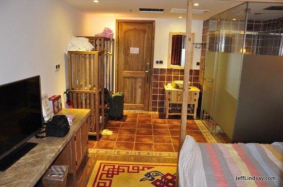 Guanshanyue Honeymoon Mansion: Entrance