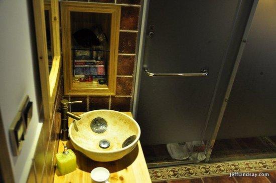 Guanshanyue Honeymoon Mansion: Cute sink