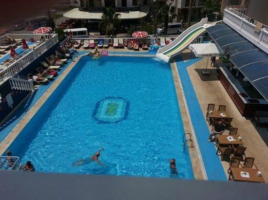 Musti's Royal Plaza: pic of the pool from room