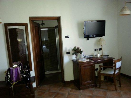 Tenimento Al Castello: camera