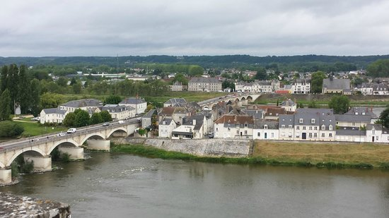 Chateau d'Amboise: Looking across the Loire