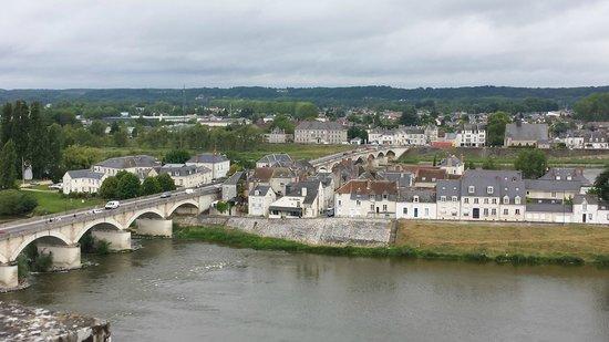 Château d'Amboise : Looking across the Loire