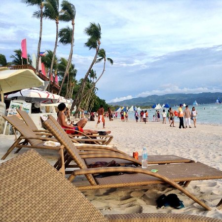 Boracay Beach Club: View from the beach