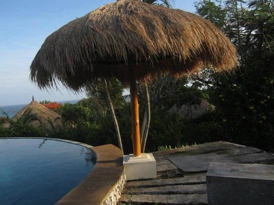 La Joya, Villa & Bungalows: pool side