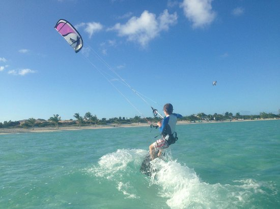 Turks and Caicos Kiteboarding : Up, Up and Away!