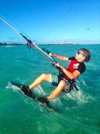 Turks and Caicos Kiteboarding : Way to Go!