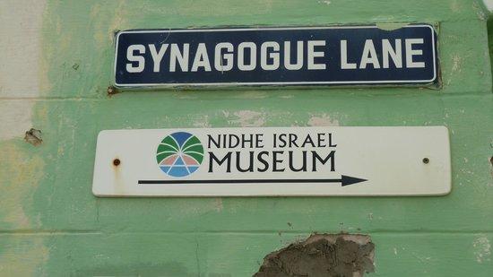 Jewish Synagogue : Synagogue Lane Road Sign