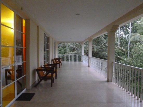 Horakelle Estate: Le balcon....