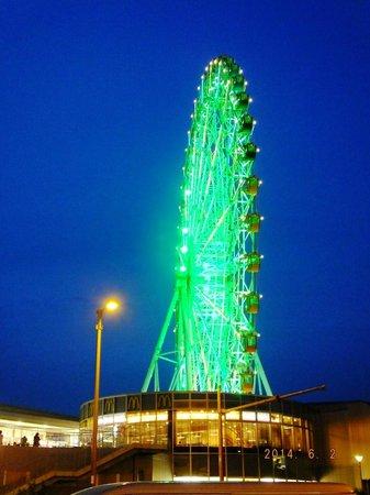 Kansai Airport Washington Hotel : Ferris Wheel at night