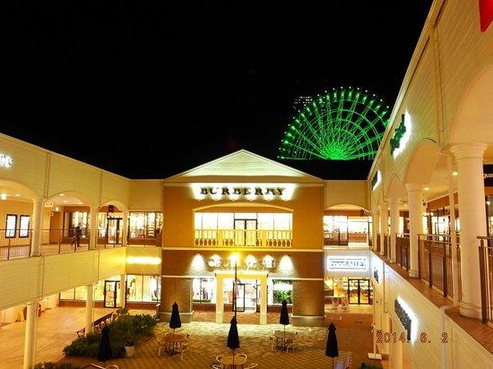 Kansai Airport Washington Hotel : Rinku town Premium Outlets