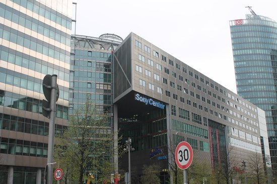 Potsdamer Platz : Fachada
