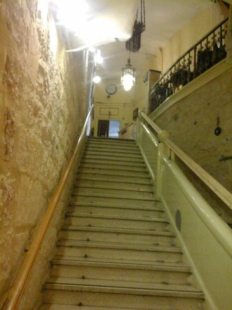 New Imperial Hotel: Лестница