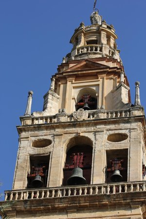 Mezquita-Catedral de Córdoba: The tower of the cathedral and mosque