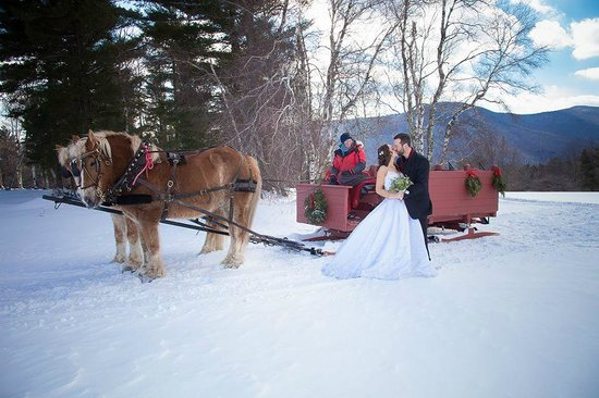 Trapp Family Lodge : Horse Drawn Ride