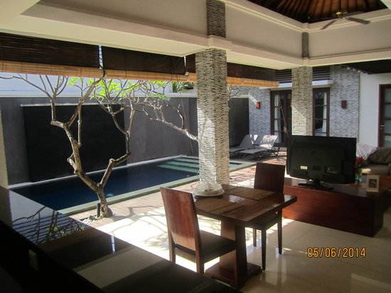 The Wolas Villas & Spa : One Bedroom Villa from one corner