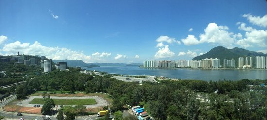 Hyatt Regency Hong Kong Sha Tin: View from room