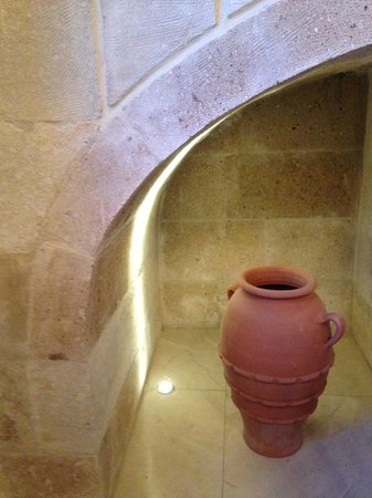 Tafoni Houses: Just one of the lovely nooks in the walls
