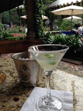 Restaurante Antiguo San Angel Inn : margarita-perfect!