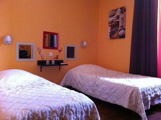 Hotel Sainte Bernadette : Chambre Twin
