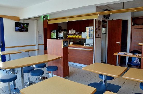 Ibis Budget Marseille Vitrolles : Cafeterie