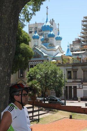 Bike Tours: Russian church -