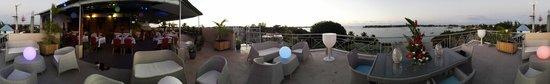 Le Lagon Hotel Restaurant: vue panoramique terrasse