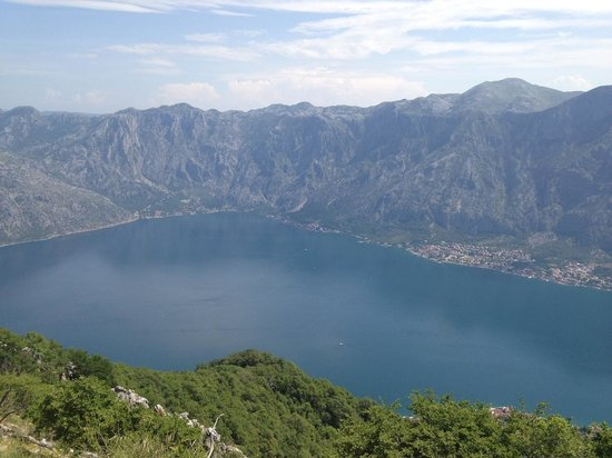 Montenegro+: Kotor bay from the top of Vrmac