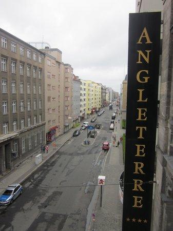 GOLD INN Angleterre : Blick in die Friedrichstrasse....
