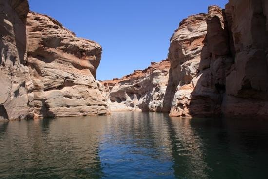 Page - Lake Powell Campground: antelope canyon boat trip