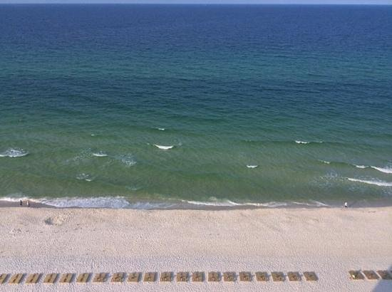 Landmark Holiday Beach Resort : View from the balcony in unit 1502.