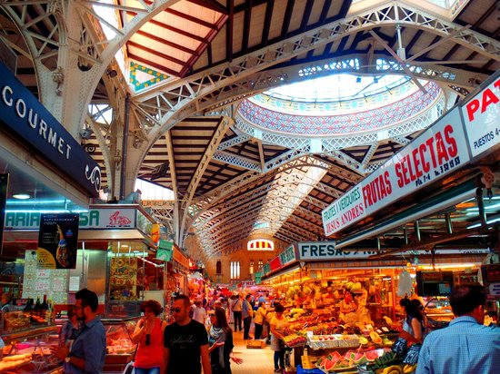 Central Market (Mercado Central) : vista interior