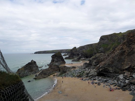 Carnewas and Bedruthan Steps: lovely view