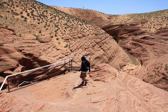 Page - Lake Powell Campground: Lower Antelope canyon with 'Ken's Tours'