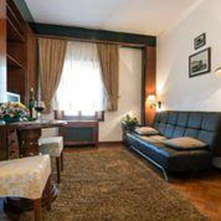 Vila Balkan : Living room