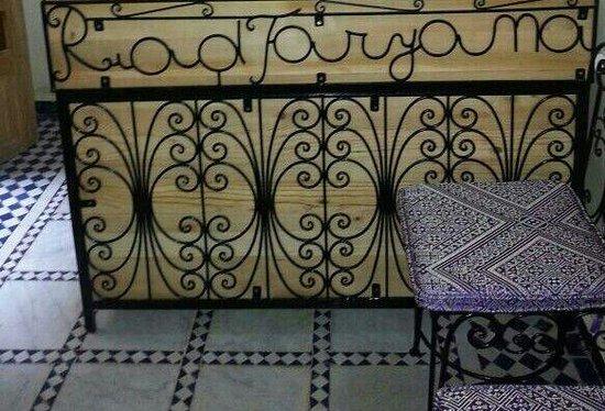 Riad Taryana: the beautiful desk